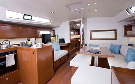 Mimpi Private Skippered Charter Yacht Kitchen